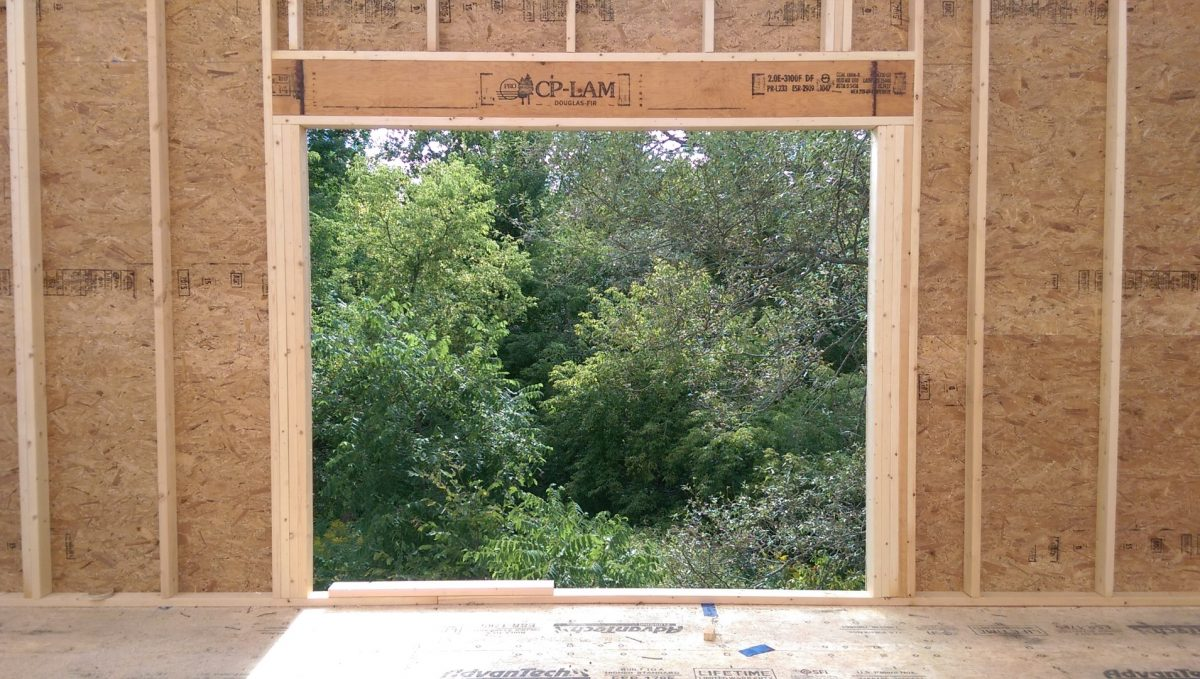 Passive House Construction Continues – 9/2/15