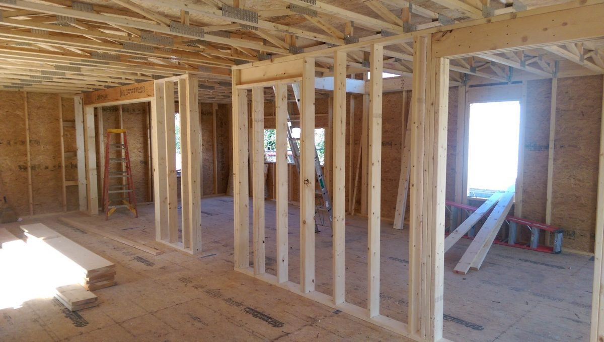Passive House Construction Continues – 9/25/15