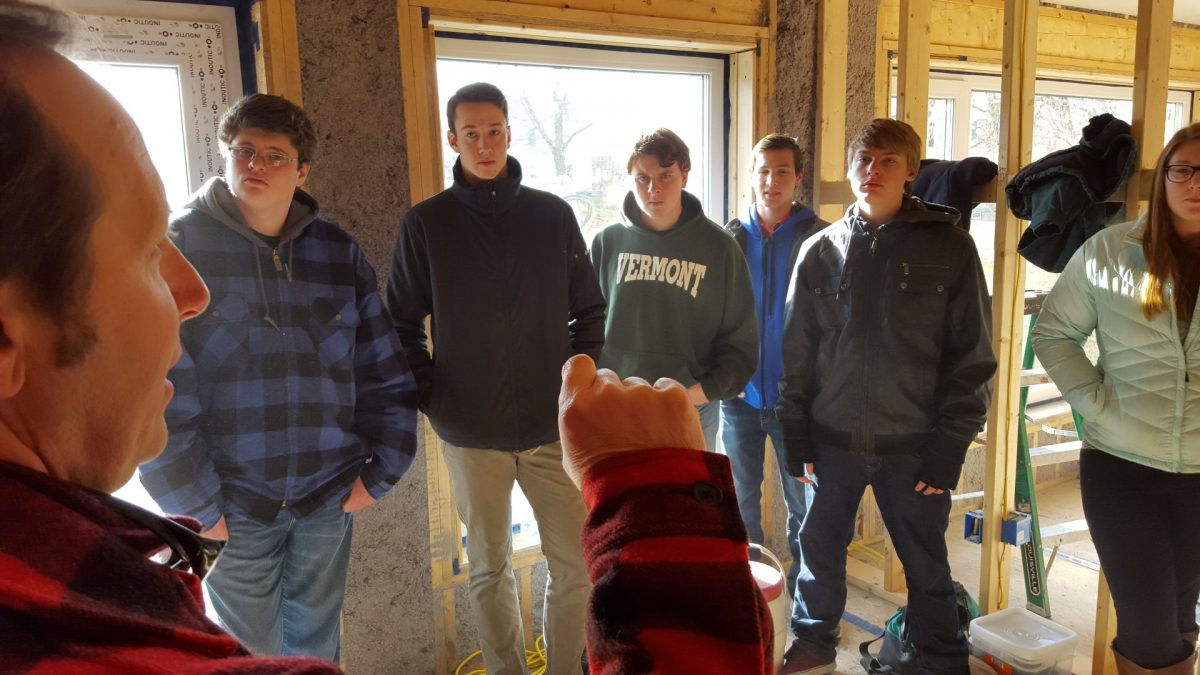 Educating the Next Generation – The Passive House Gets a Visit